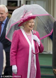 You can do as the royals do with Fulton's famous Birdcage Umbrella originally commissioned for her majesty Queen Elizabeth.