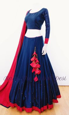 Chaniya Choli for navratri - latest designer collection - garba chaniya choli( gamthi ,katchi ,patch work ,silk ,cotton )navratri Indian Lehenga, Half Saree Lehenga, Anarkali Gown, Lehenga Choli Designs, Lehenga Designs Simple, Garba Dress, Choli Dress, Indian Designer Outfits, Indian Outfits