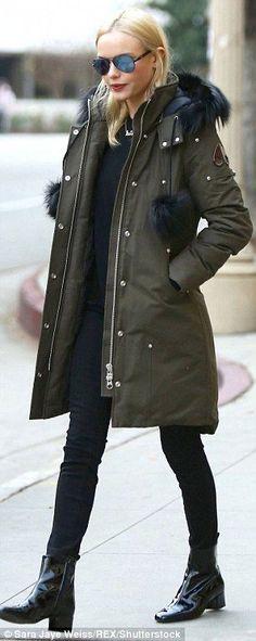 Image result for Moose Knuckles Women's Quebec Jacket olive