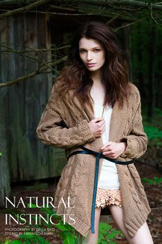 Linnea Ahlman by Della Bass in Natural Instincts for Fashion Gone Rogue