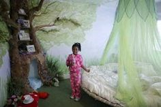 Perfect room for little girls who love fairies or the outdoors in general <3