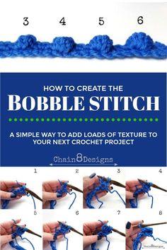 Bobble Stitch Tutorial