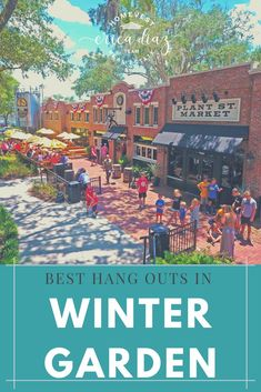 Winter Garden has some stellar hangout spots. We put together some spots you should try on a Friday night or any other night of the week! Florida Vacation, Florida Travel, Florida Beaches, Florida Keys, Best Places To Move, Great Places, Places To See, Panama City Beach, Beach Town