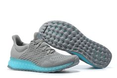 Adidas Futurecraft 3D PRINTED Ultra Boost Dark Grey Tiffany Blue UK Trainers 2017/Running Shoes 2017