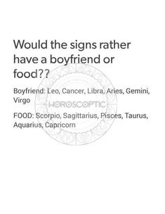 well obviously who need a bf when you have food