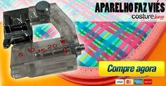 Bom Aparelho viés ajustável de 5 a 20 mm para máquinas de costura doméstica TPF-A1 , Aparelho viés ajustável de 5 a 20 mm para máquinas de costura doméstica TPF-A1  Adaptável à máquinas Singer, Sun Special, Janome, Elna, Broth... , Rogério Wilbert , http://blog.costurebem.net/2015/01/aparelho-vies-ajustavel-de-5-20-mm-para-maquinas-de-costura-domestica-tpf-a1/ ,