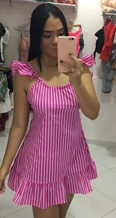 Stylish Dresses, Simple Dresses, Cute Dresses, Beautiful Dresses, Casual Dresses, Thick Girls Outfits, Latest African Fashion Dresses, Chic Dress, Ideias Fashion