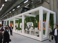 Cersaie Booth Trade Show Design, Living Spaces, Google