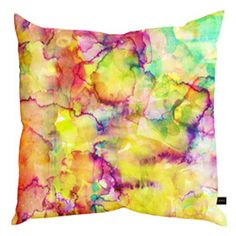 Amy Sia Island Cushion at Heal's Tie Dye Patterns, Print Patterns, Living Room Sofa Design, Printed Cushions, Abstract Watercolor, Watercolour, Cushion Fabric, Textile Prints, Textiles
