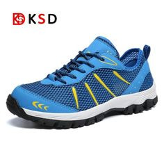 9b540c1a Men Outdoor Sneakers Breathable Hiking Shoes Big Size Men Hiking Sandals 2018  New Men Trekking Trail