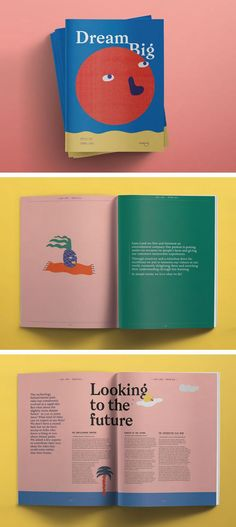 Student Showcase – Shillington Education I liked this article because the colors and graphics take over the words in a whimsical way. I like the unique touch of the palm tree's word wrap. Layout Design Inspiration, Magazine Design Inspiration, Book Design Layout, Print Layout, Editorial Design Layouts, Graphic Design Magazine, Magazine Layout Design, Magazine Layouts, Buch Design