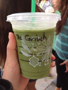 Mr. Grinch...Starbucks style