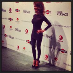 Susan Lucci followed me on the red carpet!