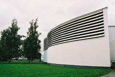 Municipal Library in Seinäjoki. Designed by Alvar Aalto