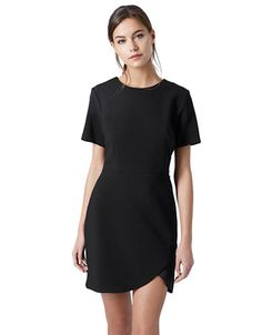 Femmes | Robes | Satin Insert Shift Dress | La Baie D'Hudson