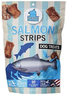 Plato Pet Treats Natural Salmon2Pack >>> For more information, visit image link.