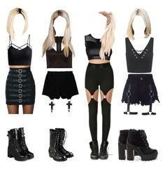 """You Think-SNSD"" by natalia-reis ❤ liked on Polyvore featuring Miss Selfridge, Chicnova Fashion, Tripp, River Island, yeswalker and Comme des Garçons"