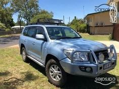 Anniversary Wagon Spts Auto in Blue Storm Towing Vehicle, Land Cruiser, Used Cars, Cars For Sale, 4x4, Diesel, Toyota, Australia, 60th Anniversary