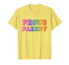 PROUD PARENT #Rainbow #Pride #T-Shirt Queerly Canadian https://www.amazon.com/dp/B07DJ68NV7?tag=dondes-20