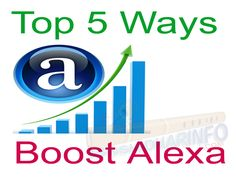 Alexa rank is the most important to the every website or blog there are 100% working top 5 helpful tips to Boost alexa rank easily