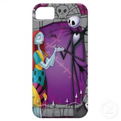 Jack and Sally Holding Hands iPhone 5 Cover