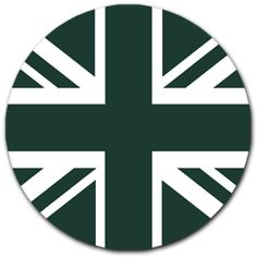 British Racing Green Union Flag Magnetic Tax Disc Holder |