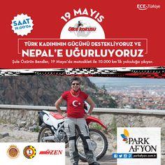Türk kadınının gücünü destekliyor ve Nepal'e uğurluyoruz.