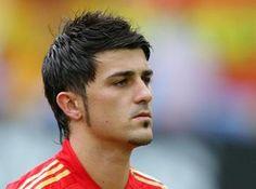 Vote Top 20 Handsome Football Players - David Villa Handsome Football Players, David Villa, Barcelona, Tops, Cute Football Players, Shell Tops, Barcelona Spain