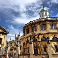 Bodleian Library in Oxford, Oxfordshire