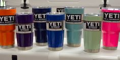 Eagle Graphic Products - powder coating, yeti & rtic, powder coat colors