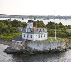 "Step back into another century as you become the ""keeper"" of this working lighthouse for a night or even a week. Built a mile offshore in Narragansett Bay, the lighthouse, which dates to 1869, runs on wind-powered electricity and is accessible only by boat: Be prepared to bunk an extra night (for free) if the weather doesn't cooperate."