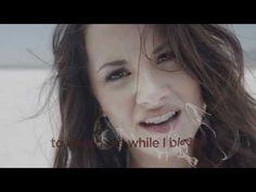 ▶ Demi Lovato - Skyscraper (Official lyric video) - YouTube
