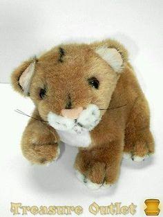 Wholesale Merchandisers Stuffed Plush Baby Lion Cub 9in
