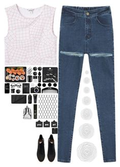 """""""Shut up and let me go"""" by spottdrossel ❤ liked on Polyvore featuring Monki, H&M, Diptyque, NIKE, NARS Cosmetics, CB2, International, Casetify, Retrò and beautyblender"""