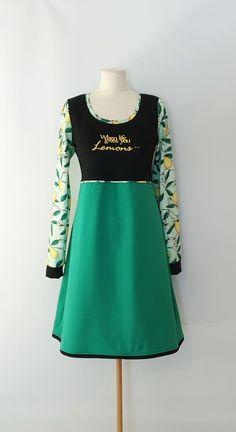 Kjole str.40 Handmade Dresses, Dresses For Work, Fashion, Moda, Fashion Styles, Fashion Illustrations, Handmade Clothes
