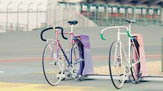 Two #bikes #fixed #fixie