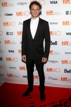 Anton Yelchin at the premiere of The Green Room