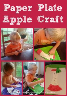 Paper Plate Apple Craft – Perfect for Toddlers and Preschoolers!
