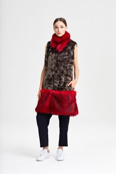 Fur Trim available in over 40 colors. Fur Trim, Black Fabric, Scarlet, Sheep, Faux Fur, Fox, Vest, Street Style, Silver