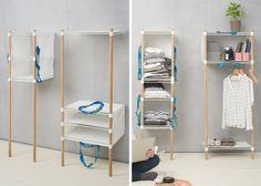"""The """"Out of the Bag"""" concept utilizes IKEA's very own Frakta bag to form on-the-go furniture that's easily assembled in seconds"""