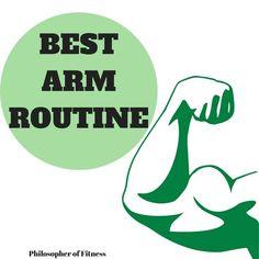 best arm routine