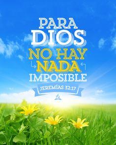 Marcos 10:27 Entonces Jesús, mirándolos, dijo: Para los hombres es imposible, mas para Dios, no; porque todas las cosas son posibles para Dios.♔