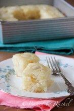 Coconut Semolina Cake - bakedbyrachel.com