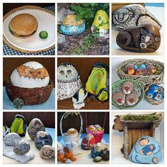Do You Need Rock Painting Ideas? Here's a sample of the rocks I've painted and some ideas for how to use them.