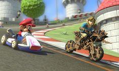 The Legend of Zelda: Breath of the Wild llega a Mario Kart 8 Deluxe