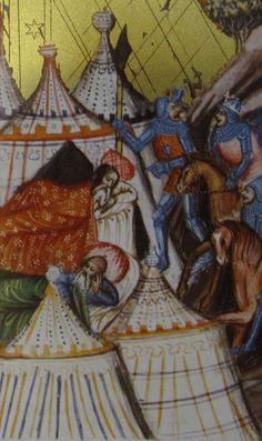 Extrait d' une bible allemande conservée à l' Austrian Imperial Library, Codex Vindobonensis 2762 - Wenzel Bible