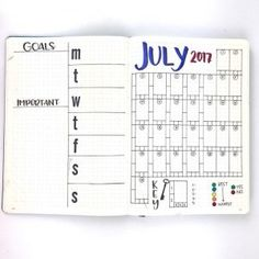 July 2017 marks a year of journaling for me! Here's my latest creations for July 2017!