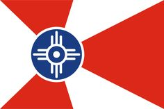 Vector flag of city Wichita in State Kansas (USA). Wichita Flag, State Of Kansas, Kansas City, City Flags, States In America, United States, Flags Of The World, City State, Badges