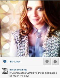 Gorgeous Mischa Barton wears and loves @GrandBazaarLondon