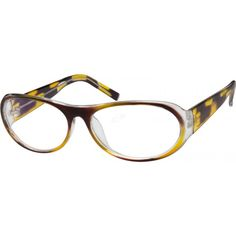 This stylish retro look is updated with a flashy frame pattern to compliment your look. A plastic full-rim frame, it's v...Price - $12.95